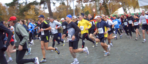 Start beim 44. Berliner Cross-Country-Lauf 2007