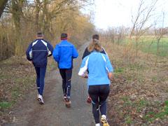 Laufen am Sonntag
