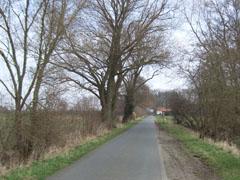 Laufen in Bollen, im Umland von Bremen