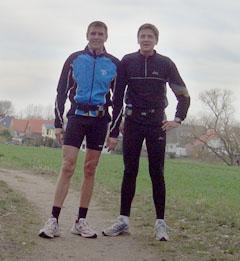 Hartmut und Andreas bei ihrer Generalprobe