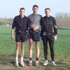 Gruppenbild auf dem Weg nach Diedersdorf