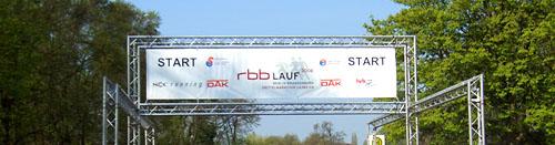 Start beim 5. RBB-Lauf 2008 in Potsdam