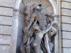 Skulpturen an der TU