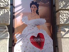 """Plakat für das Musical """"Elisabeth"""" am Theater des Westens"""