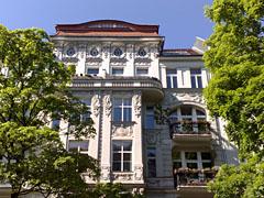 Altes Berliner Wohnhaus