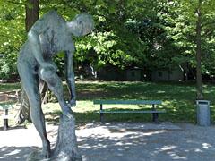 Skulptur am Lietzensee