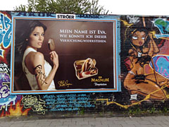 Werbung meets Graffiti