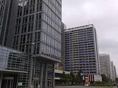 Ostdeutscher Sparkassenverband und Hochhäuser
