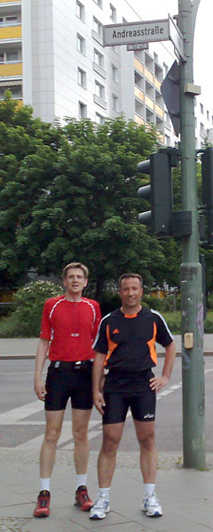 Andreas und Andreas an der Andreasstraße