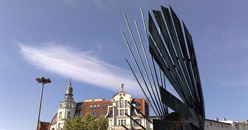 Der Himmel über dem Bundesplatz