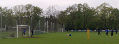 Hertha BSC beim Training