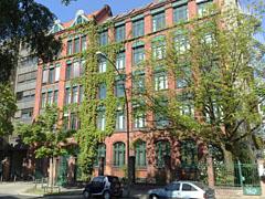 Gewerbegebäude an der Franklinstraße