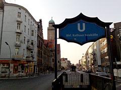 U-Bahnhof und Rathaus Neukölln