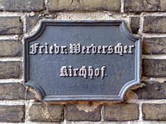 Schild Friedrichswerderscher Friedhof