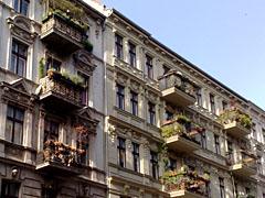 Gründerzeit-Häuser in Kreuzberg