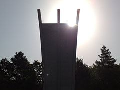 Luftbrücken-Denkmal am Flughafen Tempelhof