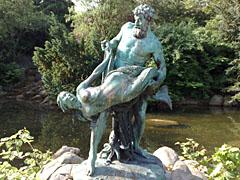 Skulptur am Viktoriapark