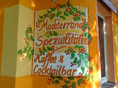 Schild am Restaurant