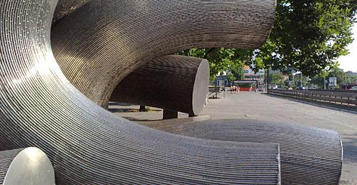 Skulptur am ICC