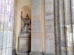 Statue am Brandenburger Tor