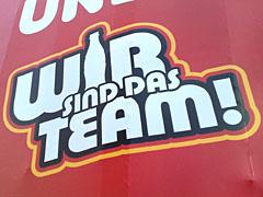 Werbung, Wir sind das Team