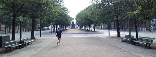 Laufen Unter den Linden