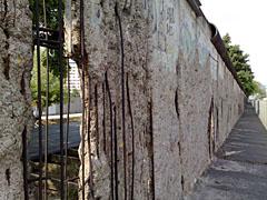 Mauer Topographie des Terrors