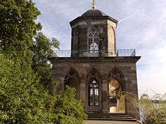 Gotische Bibliothek im Neuen Garten