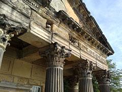 Schlossküche im verfallenen Tempel