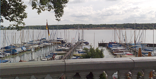 Blick auf den Großen Wannsee