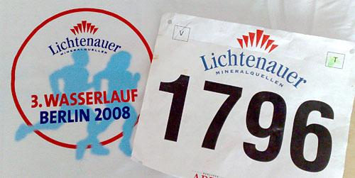 3. Lichtenauer Wasserlauf - 10-km-Wettkampf