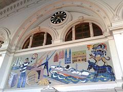 Mosaik im Bremer Hauptbahnhof