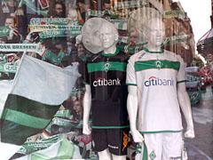Werder-Bremen-Trikots