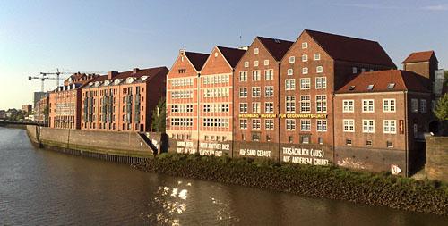 Teerhof und Neues Museum Weserburg