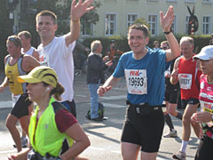 Läufer am Hohenzollerndamm