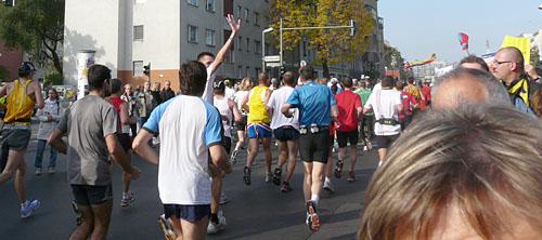 Läufer an der Yorckstraße