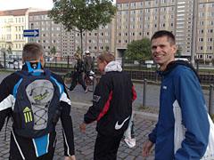 Auf dem Weg zum Berlin-Marathon