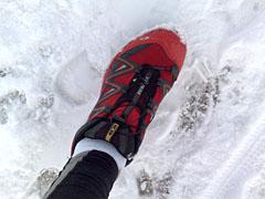 Salomon XT Wings im Schnee