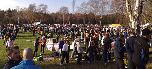 Teilnehmer der Marathon-Staffel