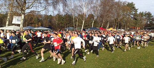 Start bei der 16. Kondius Marathon-Staffel