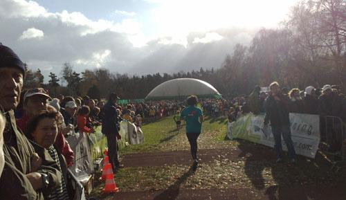 Läufer der Marathon-Staffel