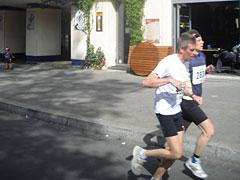 Läufer beim Drittelmarathon