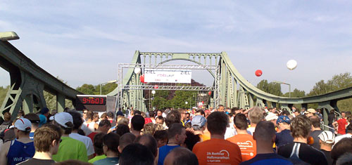 Start Drittelmarathon in Potsdam