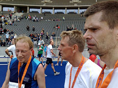 Läufer im Olympiastadion