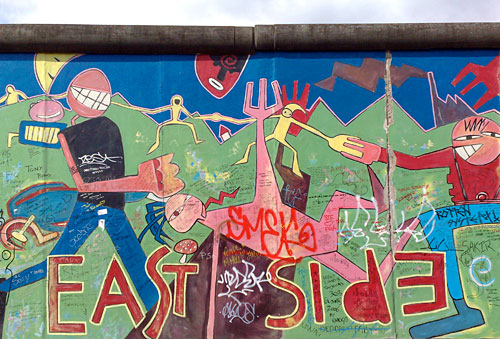 Mauer East Side Gallery