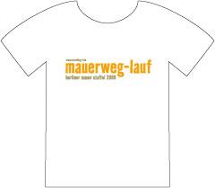 Lauf-Shirt Berliner Mauerweg-Lauf
