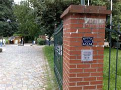 Eingang zu Schloss Diedersdorf