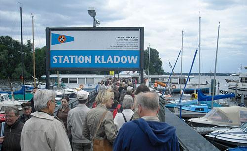 Fähre von Kladow nach Wannnsee