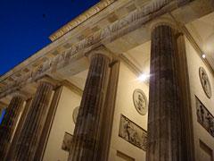 Brandenburger Tor im Morgengrauen