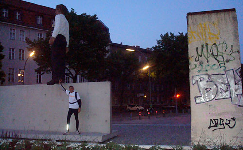 Kunst an der Mauer